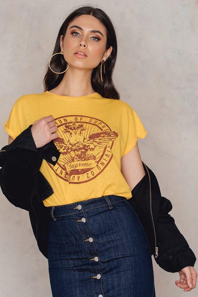 Hino T-Shirt Sunrise Melange