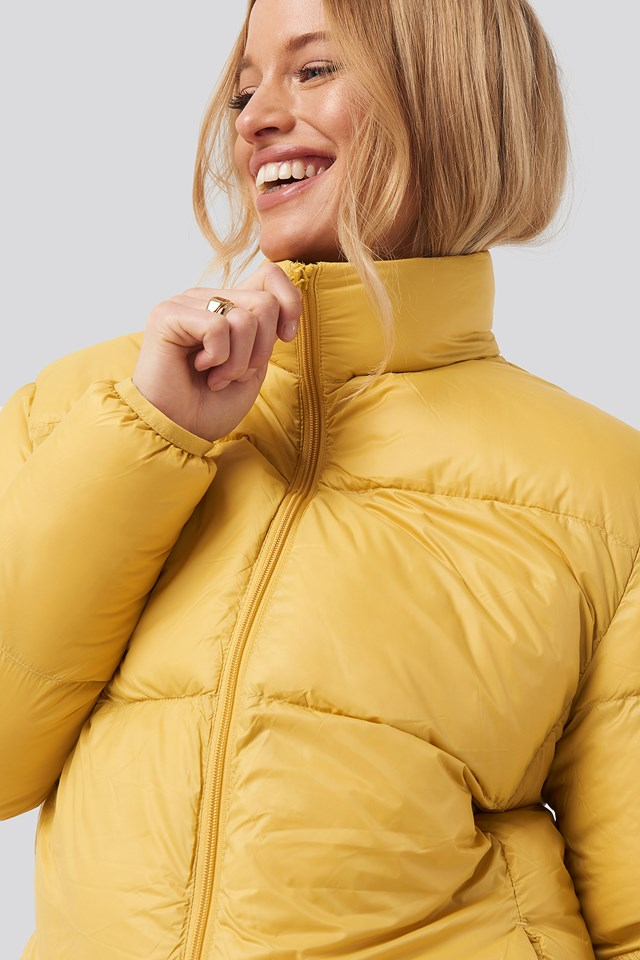 Pretty Puff Jacket Mustard