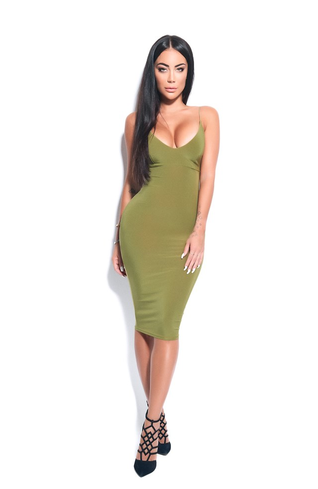 The Dress Olive Green