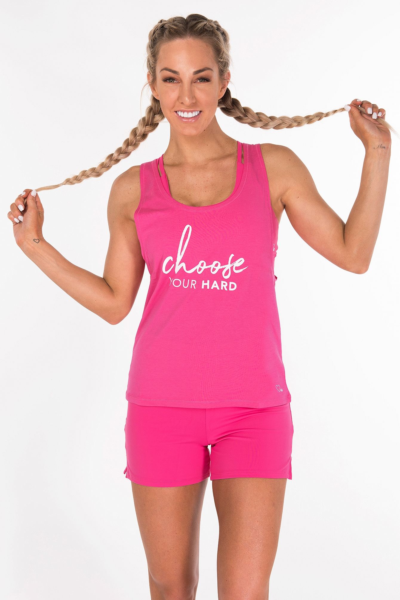 Bright Pink The Staple Tank
