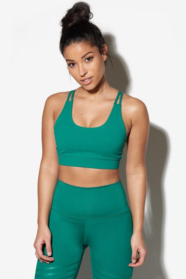 Love Ashy Crop **** Emerald Green