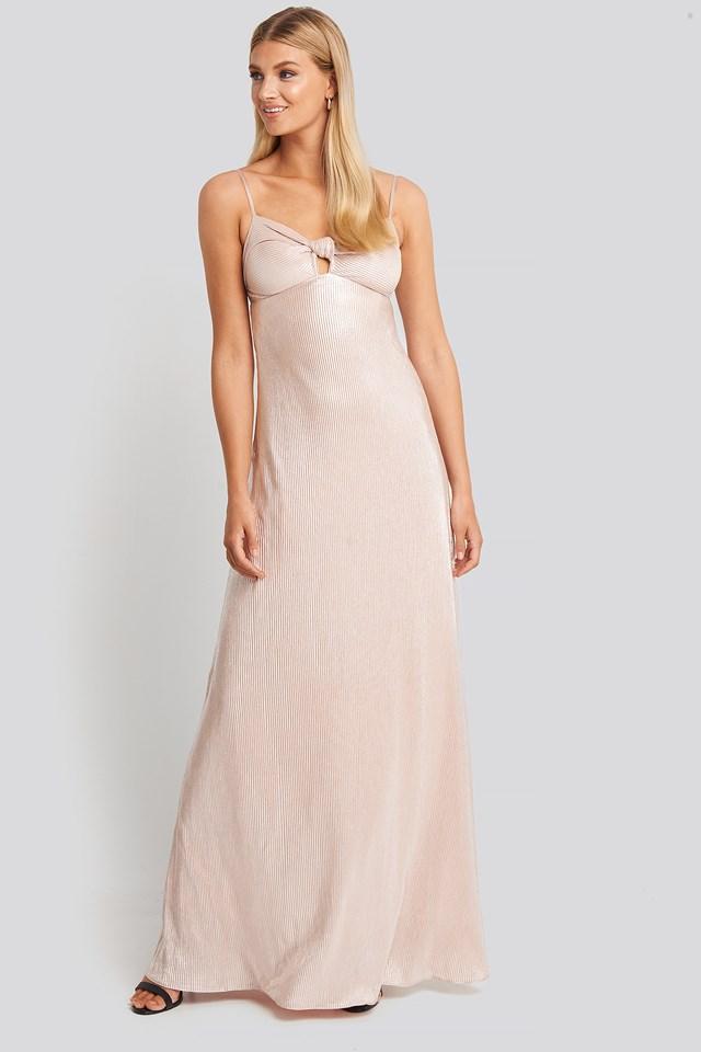 Powder Pink Sukienka Wieczorowa